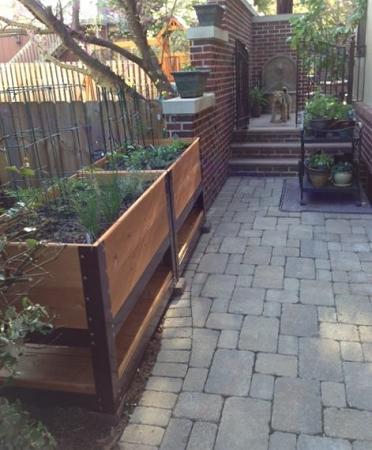 Elevated Garden Planter Box Raised Beds