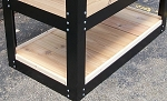 Bottom Shelf - Cedar for 2x4 Planter Boxes & Potting Bench