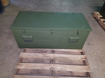 Pioneer Chest, Short NSN 5140-00-212-5326, outside view